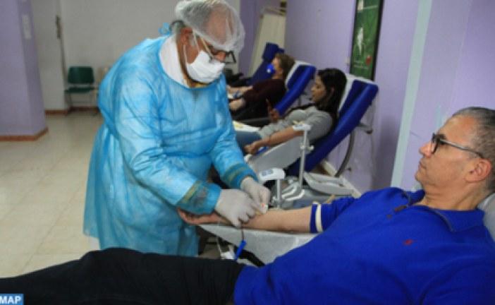 المركز الجهوي لتحاقن الدم الدار البيضاء.. إقبال كثيف على التبرع بالدم