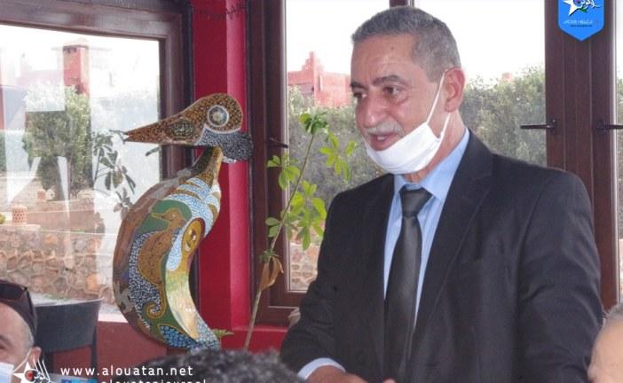 """تكريم السيد عباس الخوشالي """"رجل السلطة بمفهومها الجديد"""""""