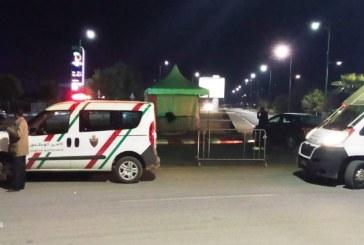 نقط مراقبة و دوريات أمنية لمفوضية الشرطة بويسلان حفاظا على اجراء حظر التنقل الليلي