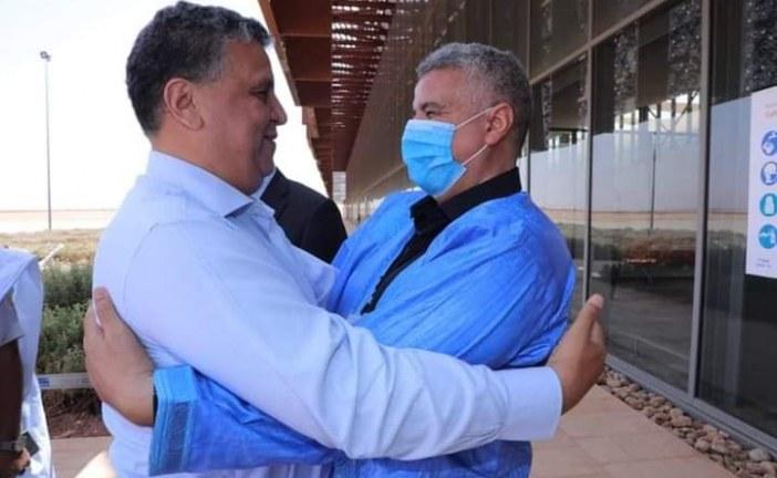 عبد اللطيف وهبي يحط رحاله بمدينة كلميم